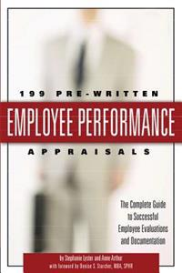 199 Pre-Written Employee Performance Appraisals