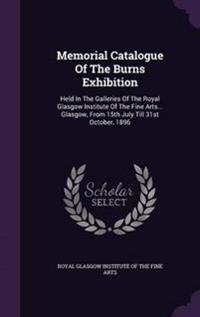 Memorial Catalogue of the Burns Exhibition