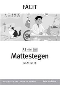 Mattestegen. A B steg 1-8. Höst. Facit. Statistik