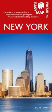 New York Premium EasyMap stadskarta : 1:25000