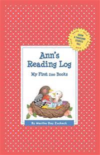 Ann's Reading Log - Martha Day Zschock - böcker (9781516242481)     Bokhandel
