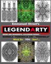 Legendarty: Weird and Wonderful Colouring / Coloring Books. What Do You See?: Superb Mandala Art Designs - Featuring Pareidolia -