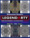 "Legendarty Weird and Wonderful Colouring Books - Volume 4. What Do You See?: Mandala /Pareidolia Art Designs. Incredible ""pareidala"" - For You to Colo"