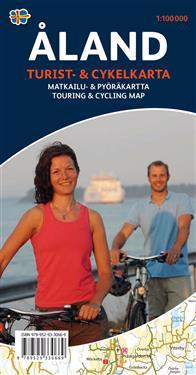 Åland Turist & cykelkarta : 1:100000