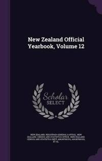 New Zealand Official Yearbook, Volume 12