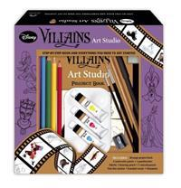 Disney Villains Art Studio [With Palette and Pens/Pencils and Paint Brush and Watercolor Paint and Eraser and Sharpener and Ma