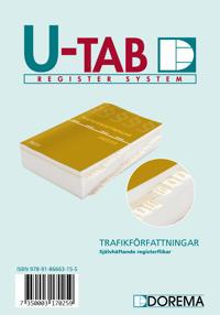 U-TAB, Trafikförfattningar 2015/16
