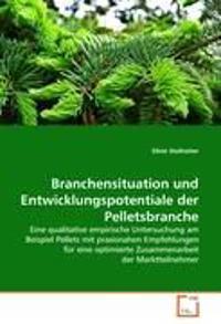 Branchensituation Und Entwicklungspotentiale Der Pelletsbranche