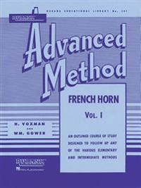 Rubank Advanced Method, Volume 1-French Horn