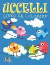 Uccelli Libro Da Colorare