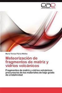 Meteorizacion de Fragmentos de Matriz y Vidrios Volcanicos