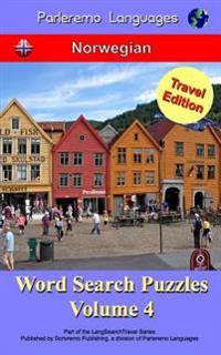 Parleremo Languages Word Search Puzzles Travel Edition Norwegian - Volume 4 - Erik Zidowecki | Inprintwriters.org
