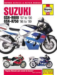 Haynes Suzuki Gsx-r600 '97 to '00 - Gsx-r750 '96 to '99 Repair Manual