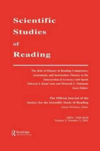 The Role of Fluency in Reading Competence, Assessment, and Instruction