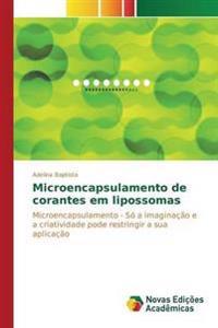 Microencapsulamento de Corantes Em Lipossomas