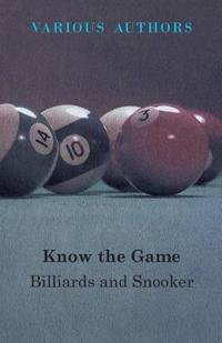 Know the Game - Billiards and Snooker