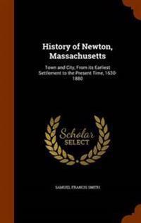 History of Newton, Massachusetts