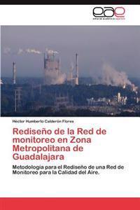 Rediseno de La Red de Monitoreo En Zona Metropolitana de Guadalajara