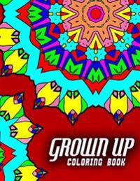 Grown Up Coloring Book - Vol.1: Grown Up Coloring Book Mandala