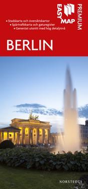 Berlin Premium EasyMap stadskarta : 1:20000