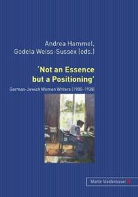 `Not an Essence but a Positioning'