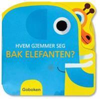 Hvem gjemmer seg bak elefanten?