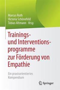 Trainings- Und Interventionsprogramme Zur F rderung Von Empathie
