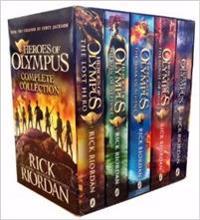 HEROES OF OLYMPUS BOX SET - 5 TITLES
