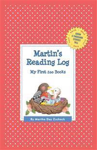 Martin's Reading Log