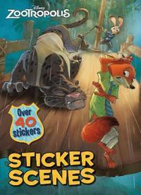 Disney Zootropolis Sticker Scenes