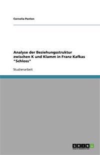 Analyse Der Beziehungsstruktur Zwischen K Und Klamm in Franz Kafkas Schloss