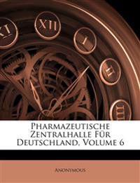 Pharmazeutische Zentralhalle Für Deutschland, VI Jahrgang