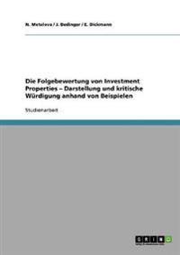Die Folgebewertung Von Investment Properties - Darstellung Und Kritische Wurdigung Anhand Von Beispielen