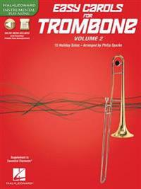 Easy Carols for Trombone, Vol. 2: 15 Holiday Solos