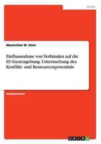 Einflussnahme Von Verbanden Auf Die Eu-Gesetzgebung. Untersuchung Des Konflikt- Und Ressourcenpotentials
