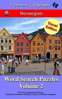 Parleremo Languages Word Search Puzzles Travel Edition Norwegian - Volume 2 - Erik Zidowecki | Ridgeroadrun.org