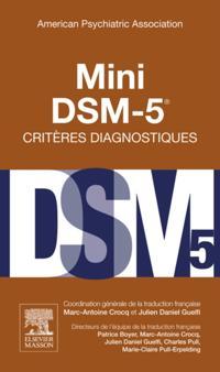 Mini DSM-5 Criteres Diagnostiques