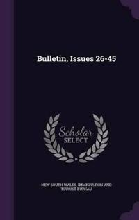 Bulletin, Issues 26-45