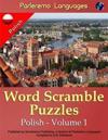 Parleremo Languages Word Scramble Puzzles Polish - Volume 1