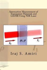 Attenuation Measurement of Transparent Materials and Lidar Using NIR Laser