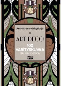 Anti-Stress värityskirja Art Déco