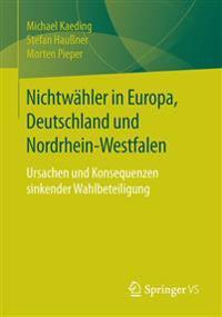 Nichtwahler in Europa, Deutschland Und Nordrhein-westfalen
