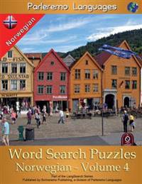Parleremo Languages Word Search Puzzles Norwegian - Volume 4 - Erik Zidowecki | Inprintwriters.org