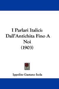 I Parlari Italici