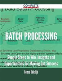 Batch Processing - Simple Steps to Win, Insights and Opportunities for Maxing Out Success