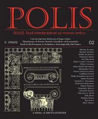 Polis 2 2006: Studi Interdisciplinari Sul Mondo Antico