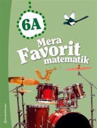 Mera Favorit matematik 6A Elevpaket (Bok + digital produkt)