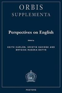 Perspectives on English. Studies in Honour of Professor Emma Vorlat