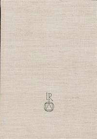 Bayerische Staatsbibliothek Inkunabelkatalog: Band 5: Rid-Z