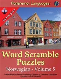 Parleremo Languages Word Scramble Puzzles Norwegian - Volume 5 - Erik Zidowecki   Inprintwriters.org